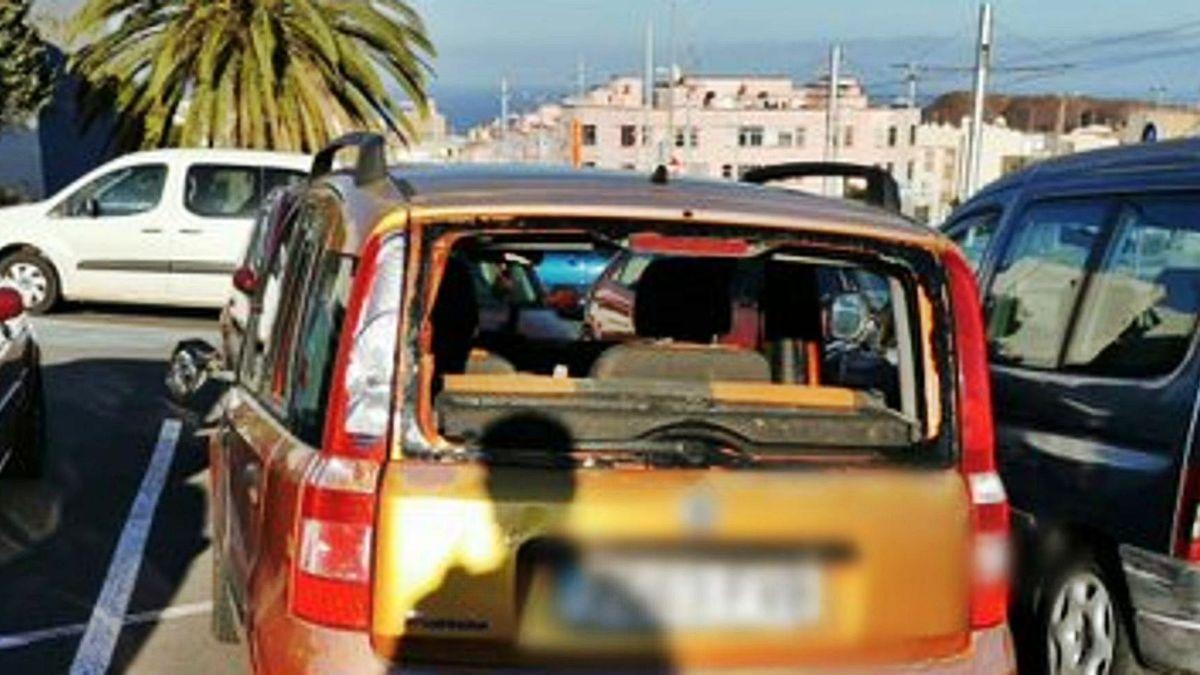 Multitudinaria reyerta a base de palos y machetes en Tenerife.