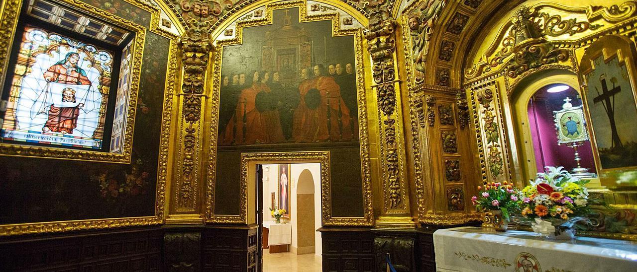 El horario del monasterio de la Santa Faz se ha ampliado hasta el domingo 18 para evitar aglomeraciones de fieles.