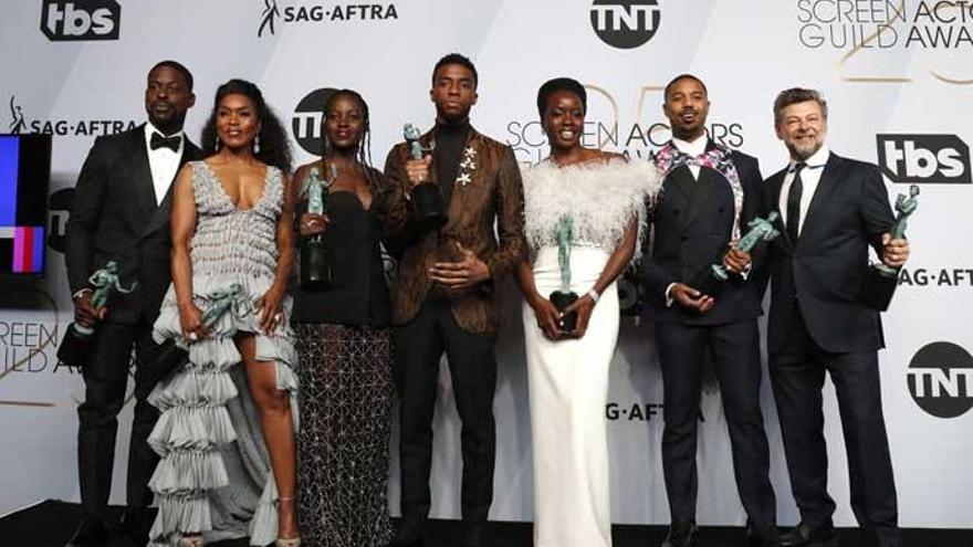 'Black Panther' calienta motores para los Oscars triunfando en los SAG