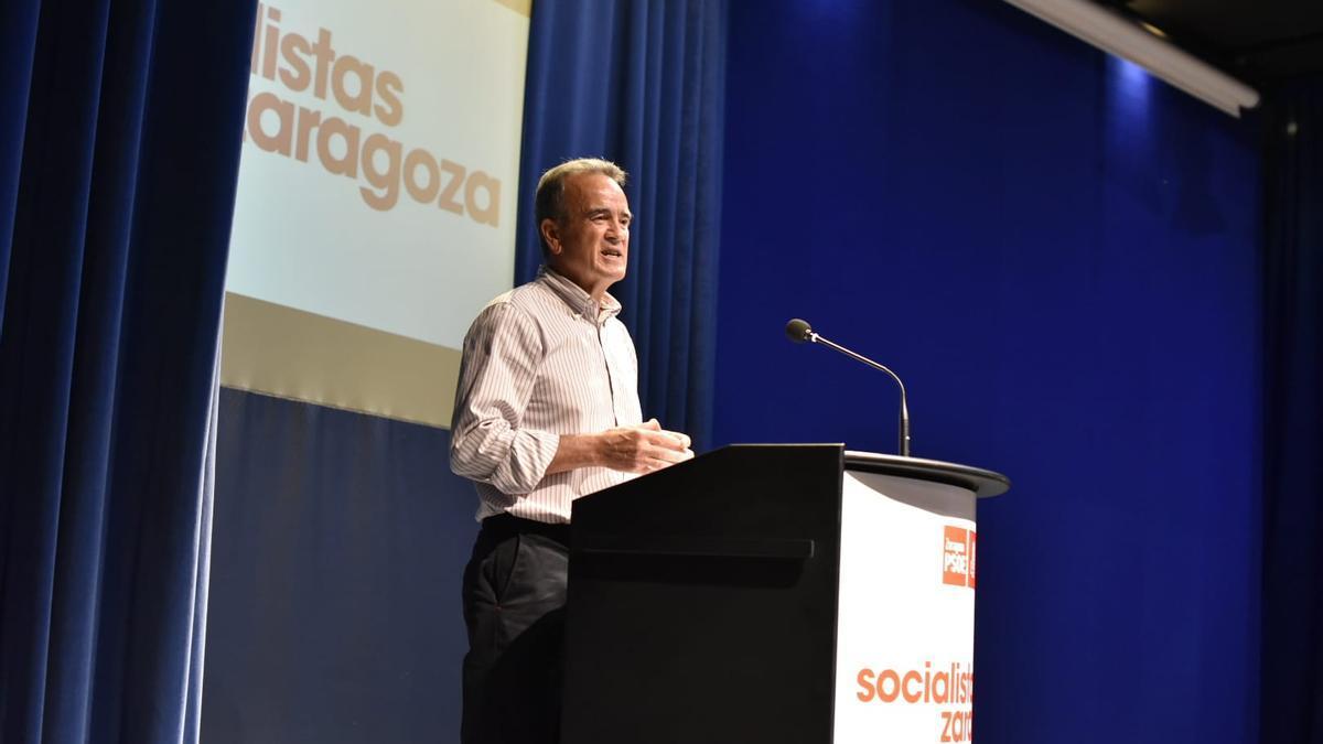 El secretario general del PSOE de Zaragoza, Juan Antonio Sánchez Quero, optará a la reelección.