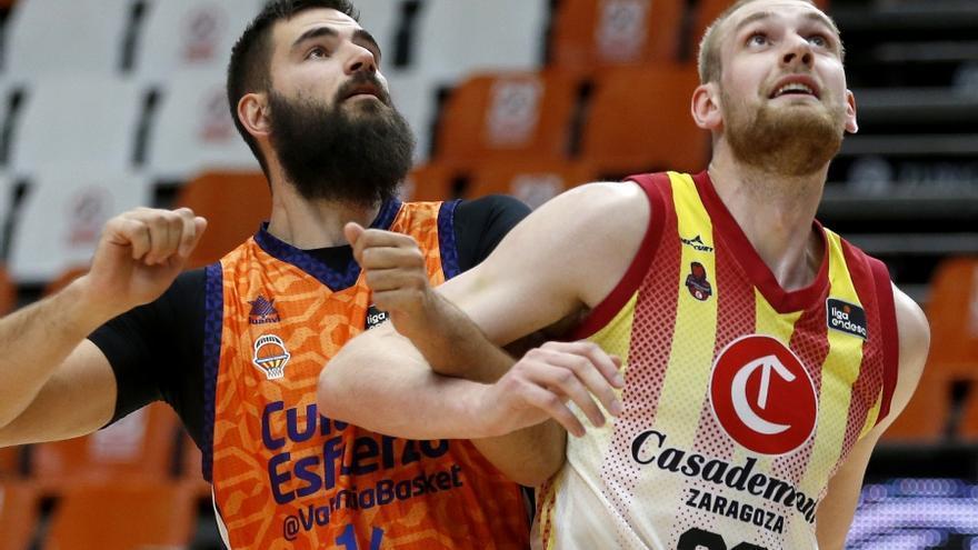 Dos fichajes y cinco ausencias en el estreno de Valencia Basket
