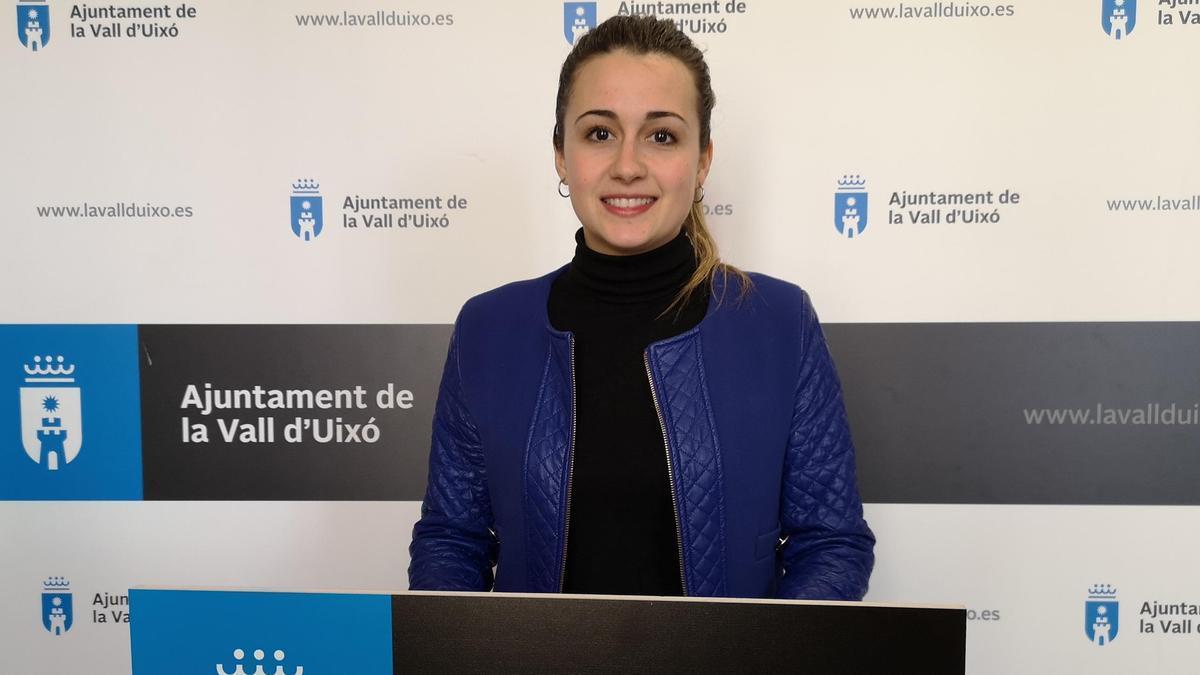 Tania Baños, alcaldesa de la Vall d'Uixó, anuncia una segunda fase del pla Resistir
