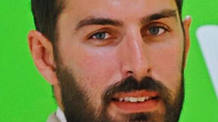 Antelo, líder de Vox Murcia. | JUAN CARLOS CAVAL