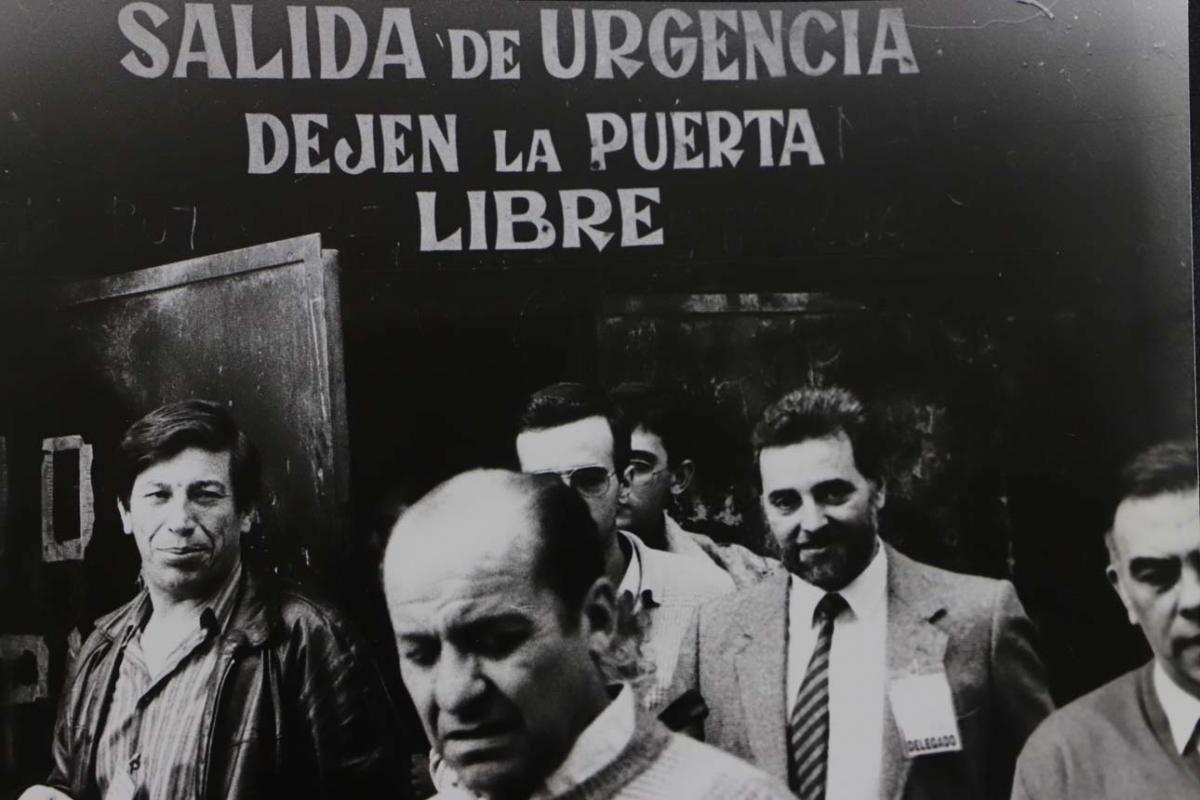 Julio Anguita, una vida en imágenes
