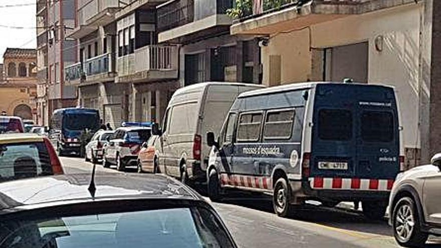 Localitzen 800 plantes de marihuana en un pis de Figueres