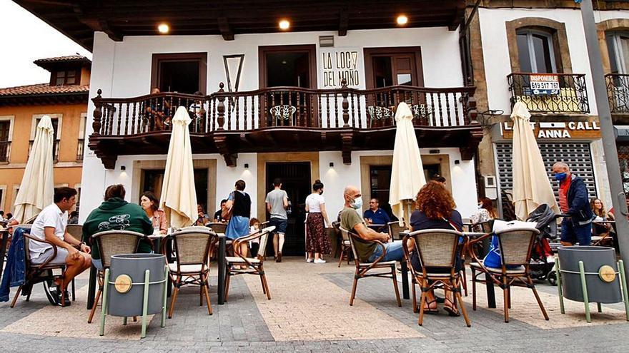 Siero aprobará medidas para la hostelería y reducirá al mínimo la tasa de terrazas