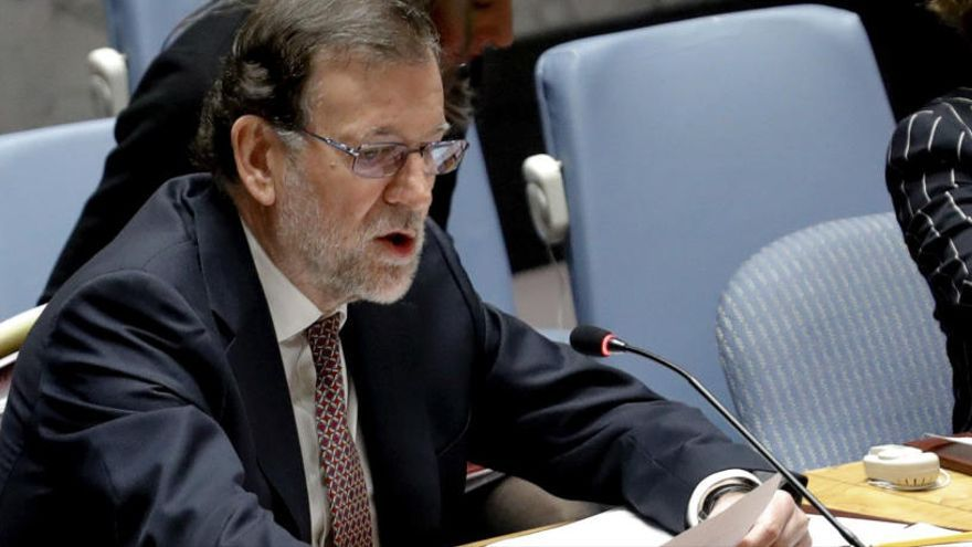 """Rajoy pide esfuerzos a la ONU ante nueva """"esclavitud"""" de la trata de personas"""