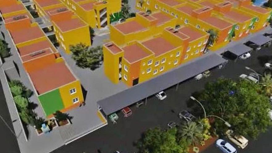 Las obras para rehabilitar las viviendas sociales comienzan en las de Guargacho