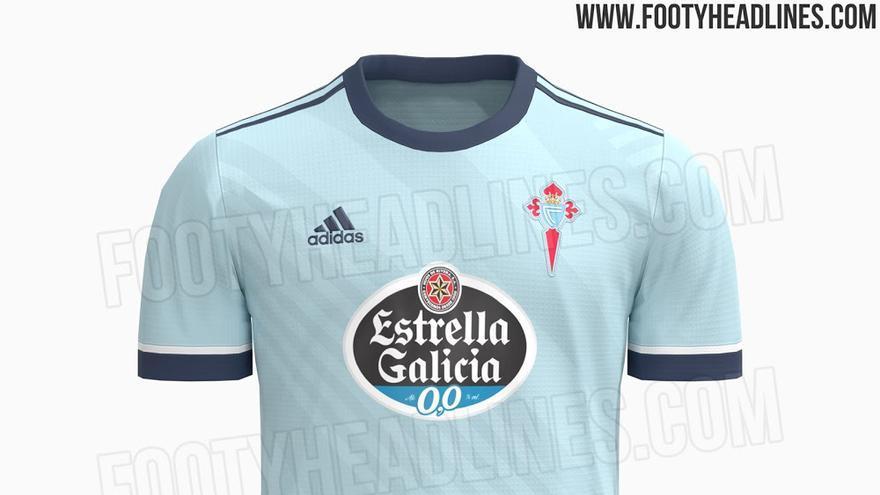 Una web desvela cómo será la primera camiseta del Celta