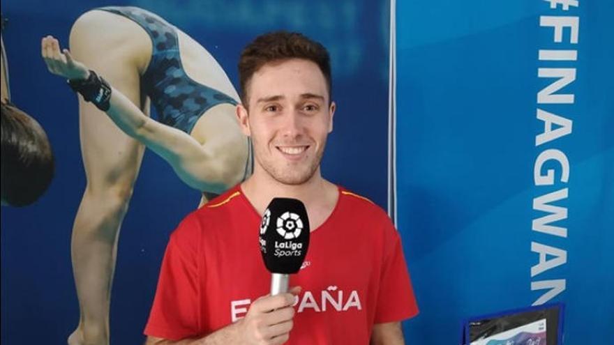 Nico García Boissier, 19º en plataforma de 1 metro, sin final