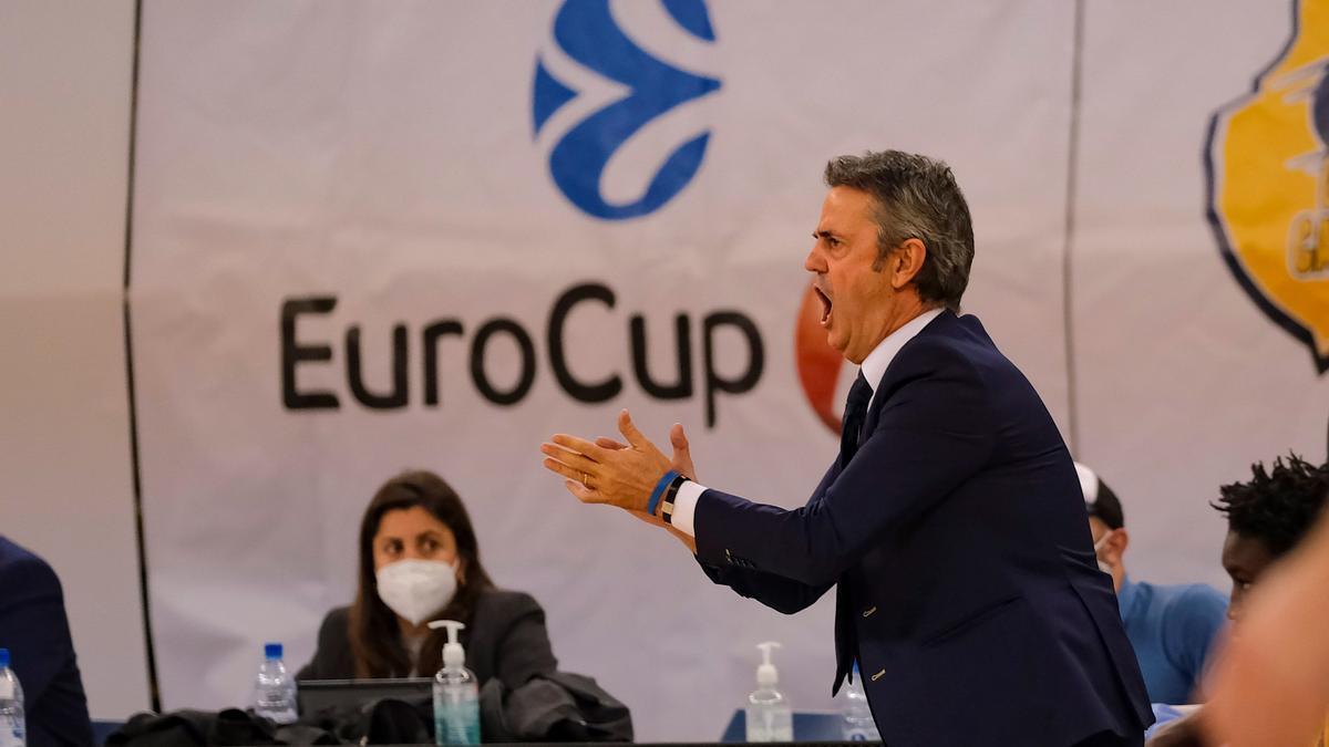 Partido de Eurocup entre el Granca y el Mornar Bar