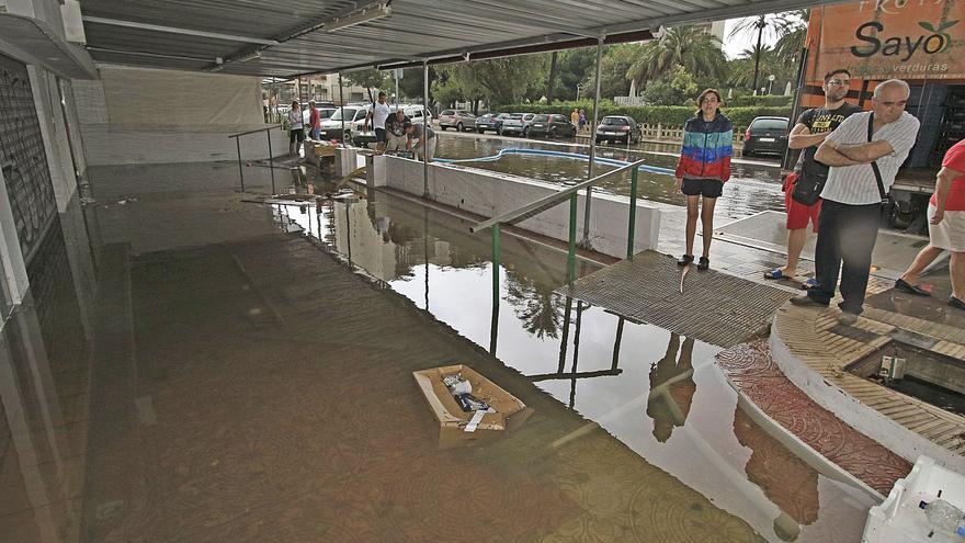"""Una """"plaza del agua"""" coronará la mayor obra contra inundaciones en la playa de Gandia"""