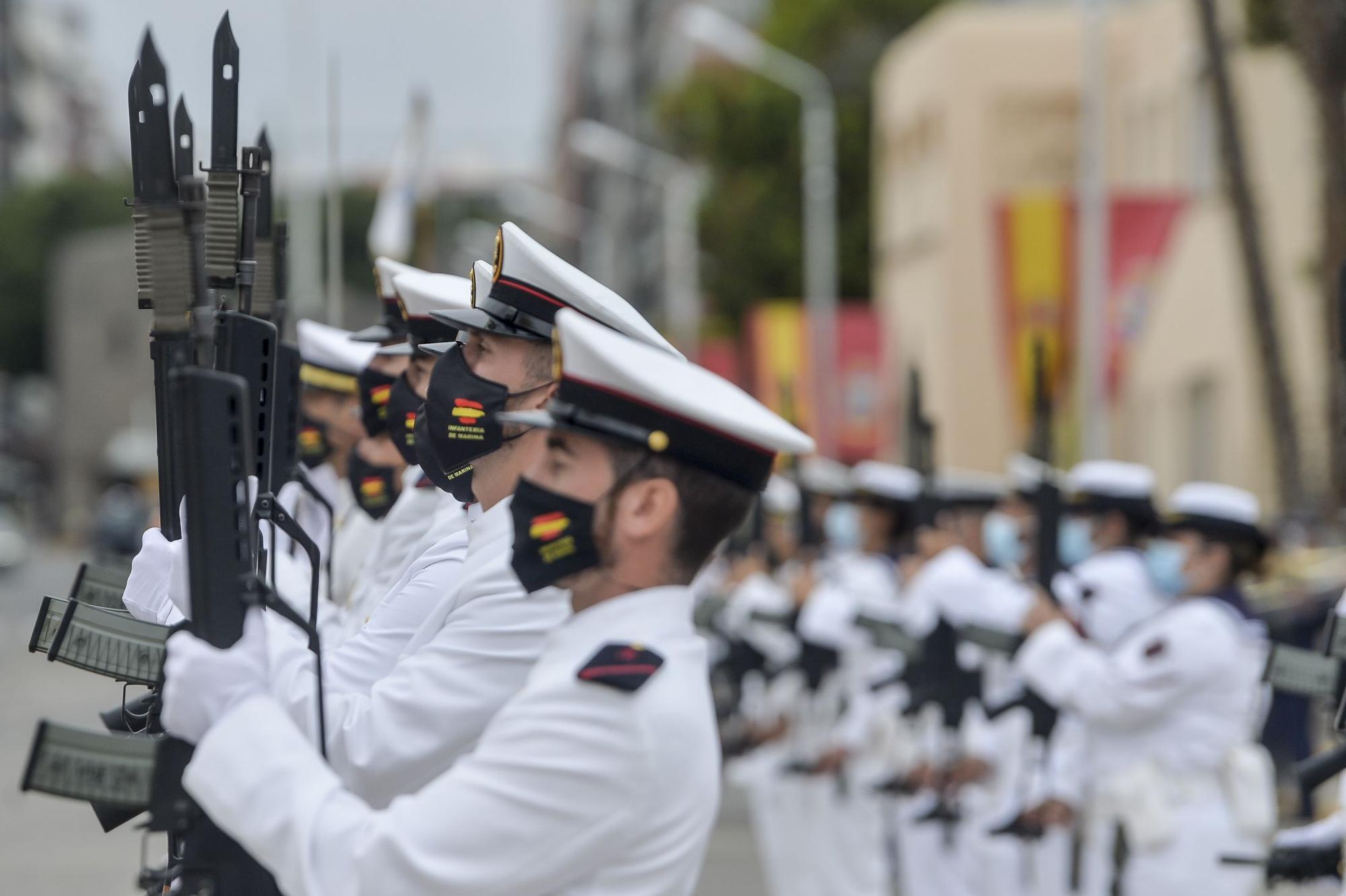 La Armada celebra la festividad del Carmen en Las Palmas de Gran Canaria (16/07/2021)