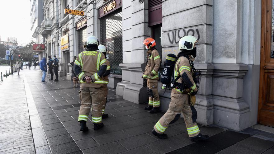 Los bomberos acuden a Primo de Rivera por un aviso de incendio