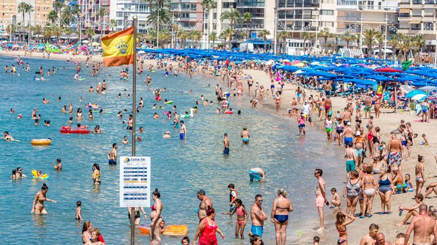 La Comunidad Valenciana registró en agosto 801.272 turistas al día, de los cuales el 59% era español y el 41% extranjero