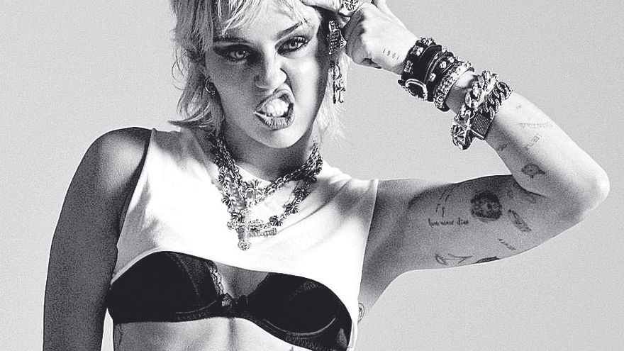 Miley reivindica su corazón rock