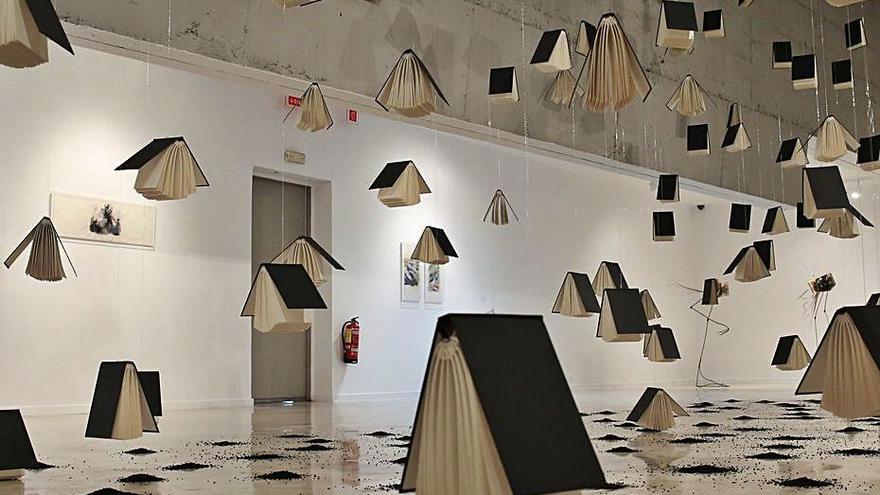 La artista malagueña Aixa Portero muestra sus obras en el CAC Málaga-La Coracha
