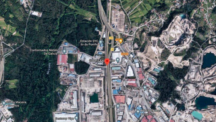 Cuatro heridos en un accidente múltiple en Mos