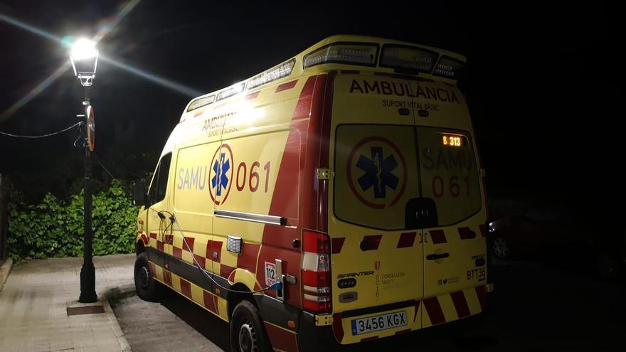 Cinco jóvenes heridos, uno de ellos grave, en un accidente en la carretera de Felanitx a Es Carritxó