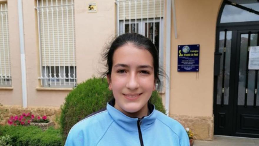 Una alumna de San Vicente de Paúl de Benavente participará en la fase autonómica de la Olimpiada Matemática