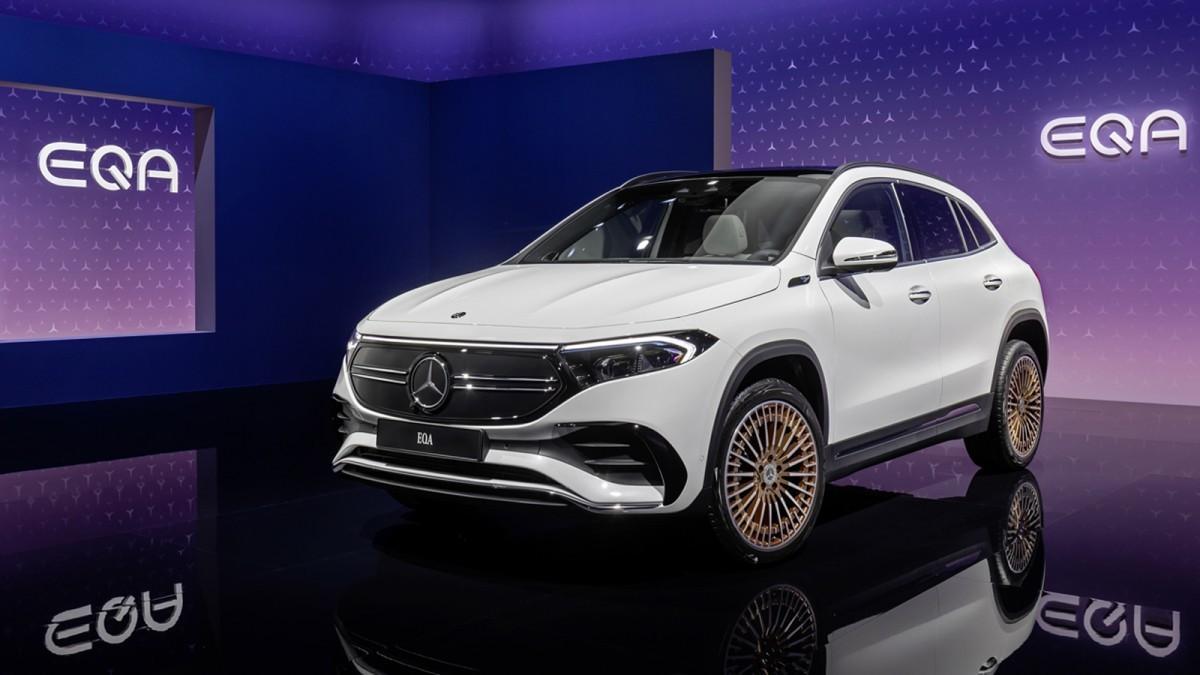 Nuevo Mercedes EQA, un SUV, deportivo y 100% eléctrico