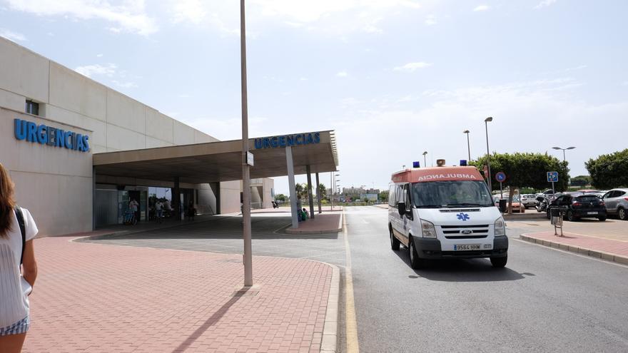 Un operario  de 22 años herido grave al golpearse la cabeza en San Fulgencio