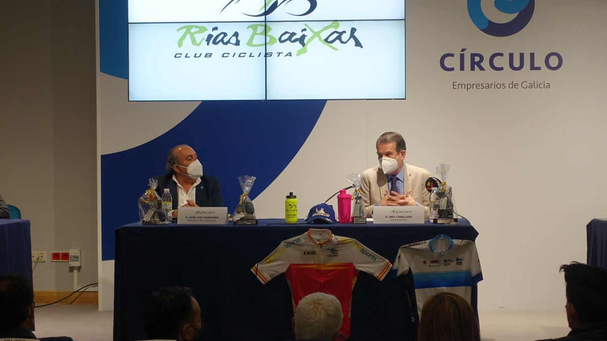 Presentación de las pruebas organizadas por el Club Ciclista Vigués.