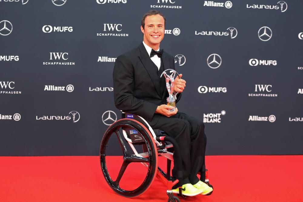 El atleta paralímpico Marcel Hug.