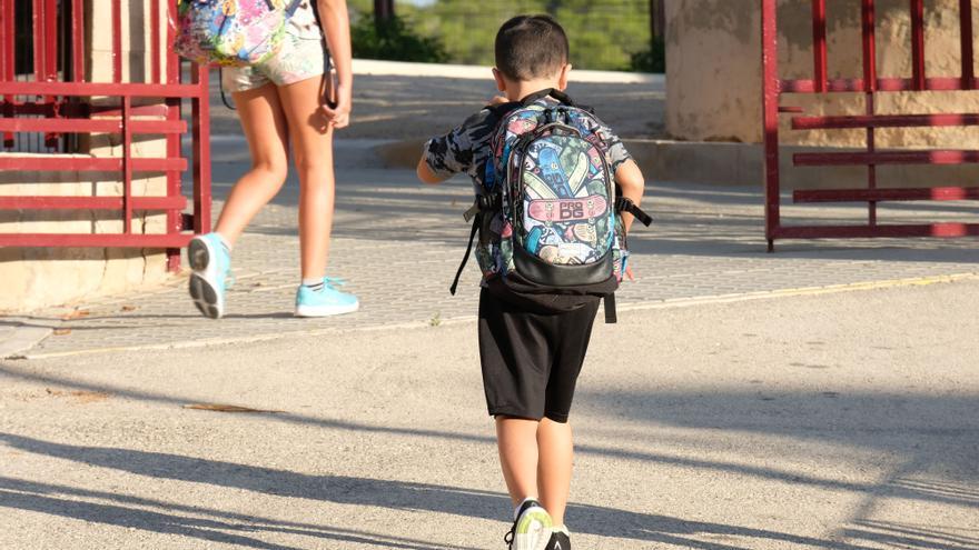 Sax pide a Educación que baje la ratio a 23 escolares por aula en Preescolar