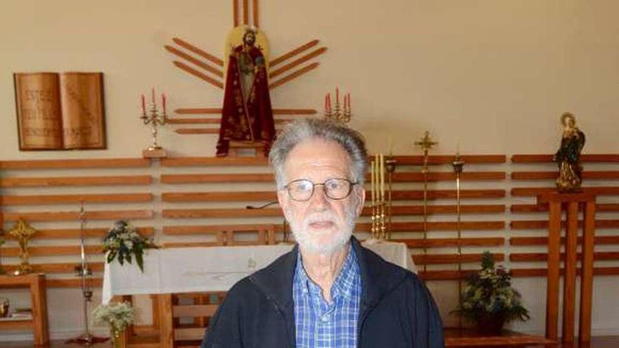 """Vicente Cerdeiriña: """"Aos dous anos dando a misa en galego a xente xa se habituara a riqueza da nosa fala"""""""