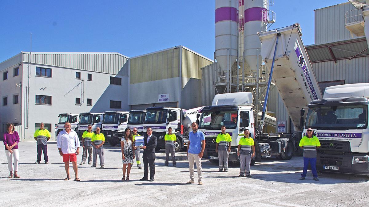 Hormort Baleares apuesta por la sostenibilidad en la fabricación, transporte y bombeo de hormigón y morteros en Mallorca.