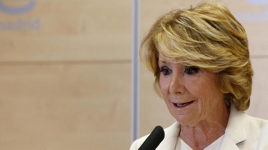 La administradora de Gürtel dice al juez que Aguirre sabía de los contratos de Púnica