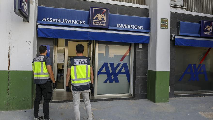 Tres arrestados en Elche en una investigación por blanqueo de capitales