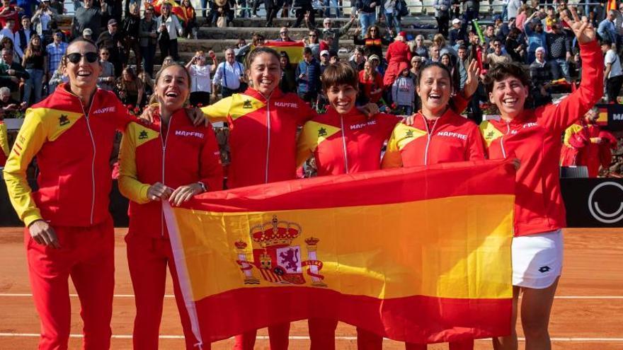 Fed Cup: Carla Suárez rubrica la victoria de España ante Japón