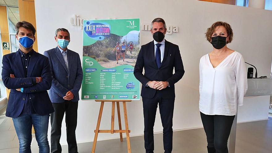 El Circuito Provincial de Atletismo de la Diputación recorrerá 23 municipios