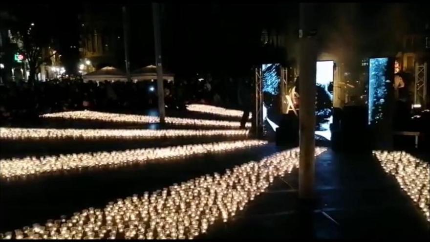 Sant Domènec brilla amb el so i les imatges de «Desobediència»