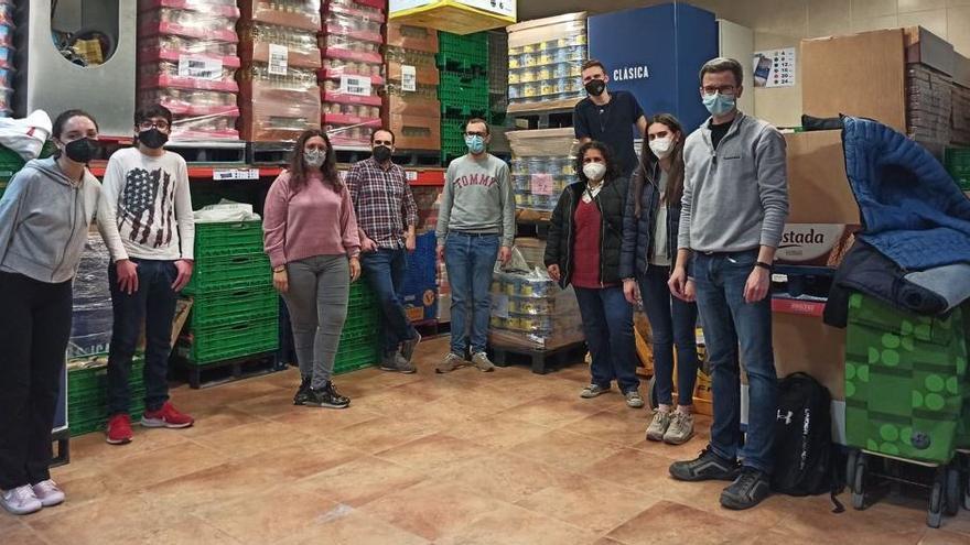 Joventut Antoniana repone su estoc para atender a más de 80 familias de Vila-real