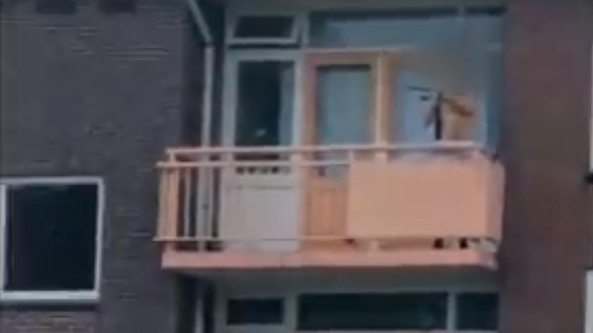 El sospechoso, en una captura de vídeo.