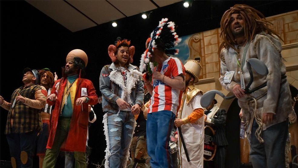 Primera sesión del concurso de murgas del Carnaval de Badajoz