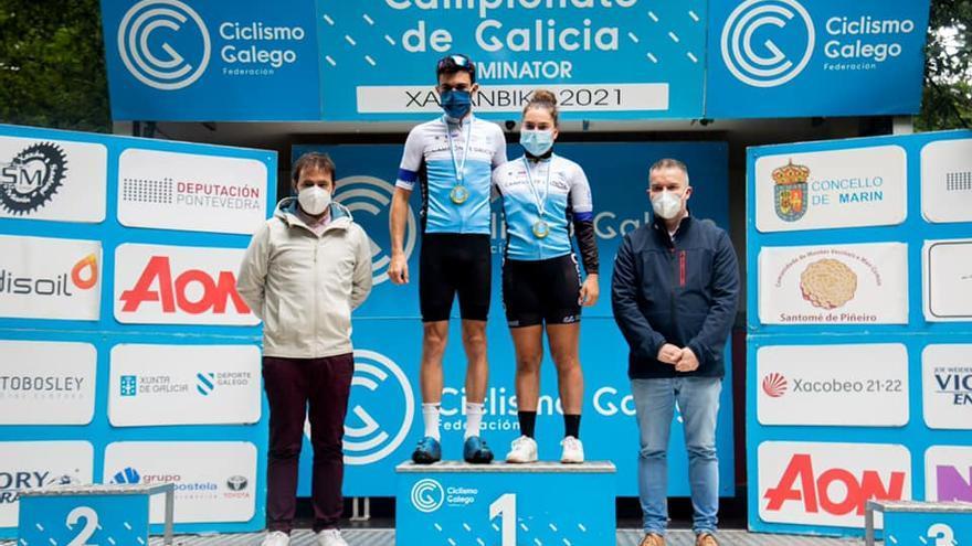 Sofía Álvarez e Jorge Punzón reinan no Campionato Xunta de Galicia de Eliminator
