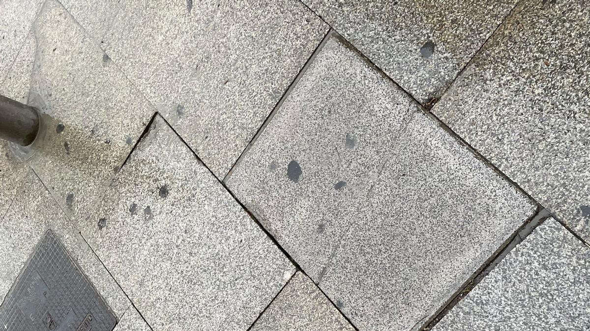 Pavimento del casco histórico de Torrent
