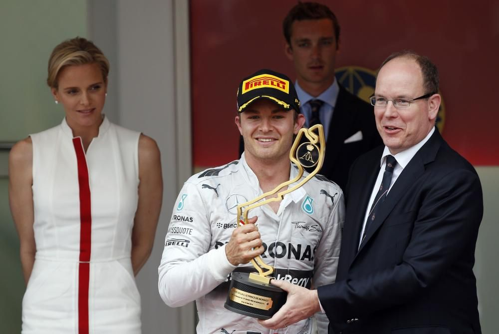 Mercedes Formula One driver Rosberg of Germany ...