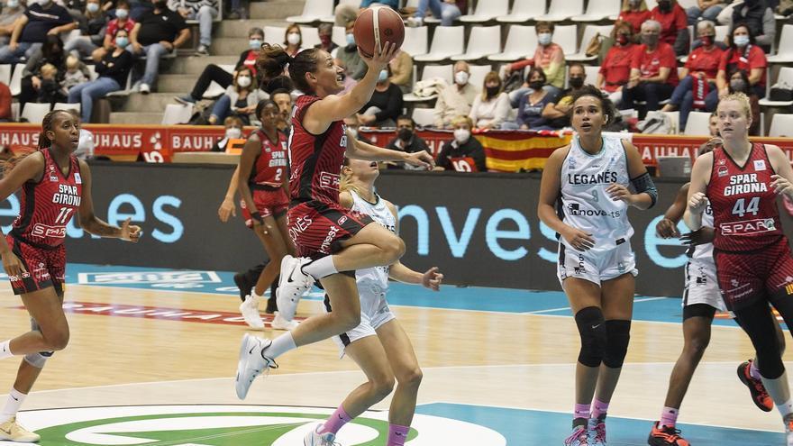 L'Spar Girona reacciona i guanya a La Seu (55-65)