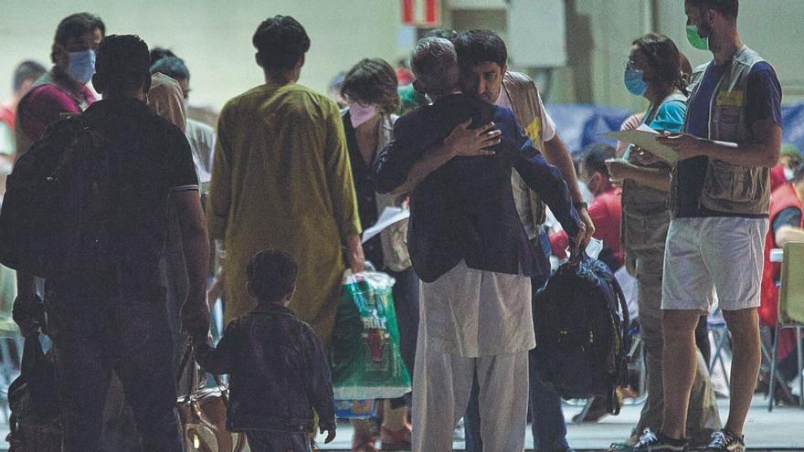 La Comunitat encabeza el alojamiento de refugiados afganos con 39 personas