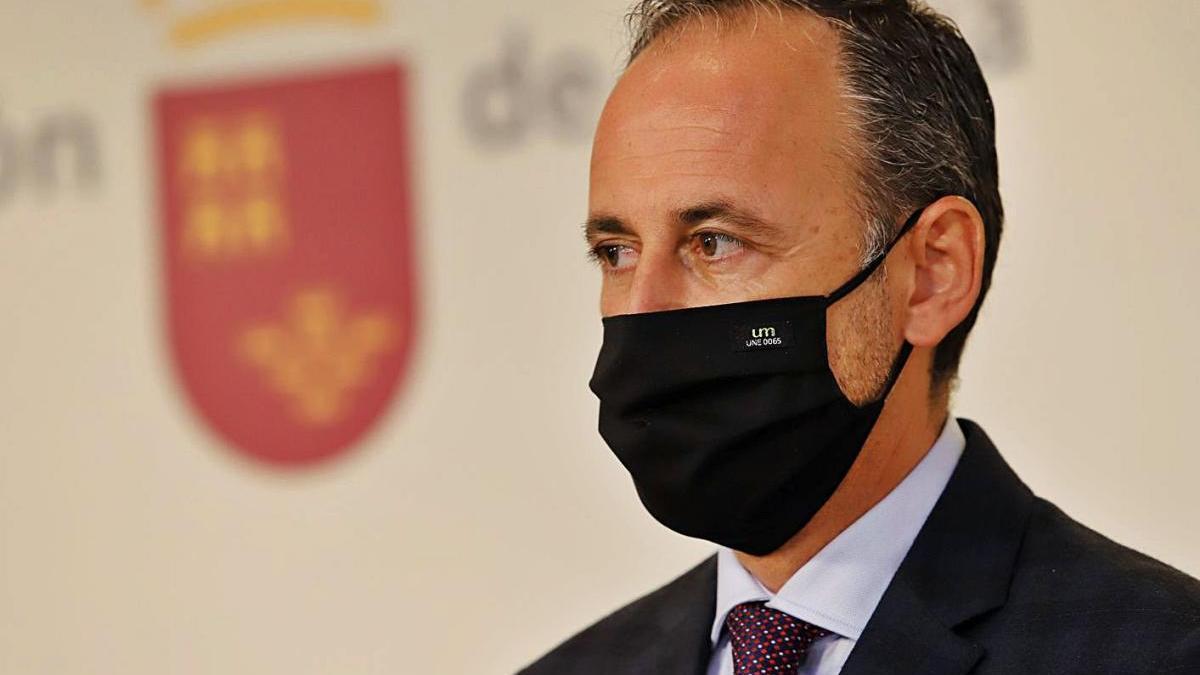 El consejero de Hacienda, Javier Celdrán.