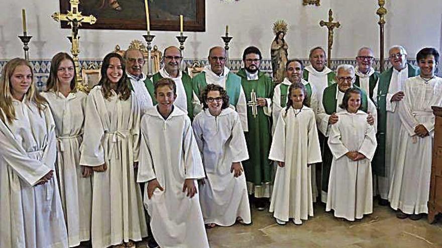 Porreres acoge a su nuevo rector y vicario