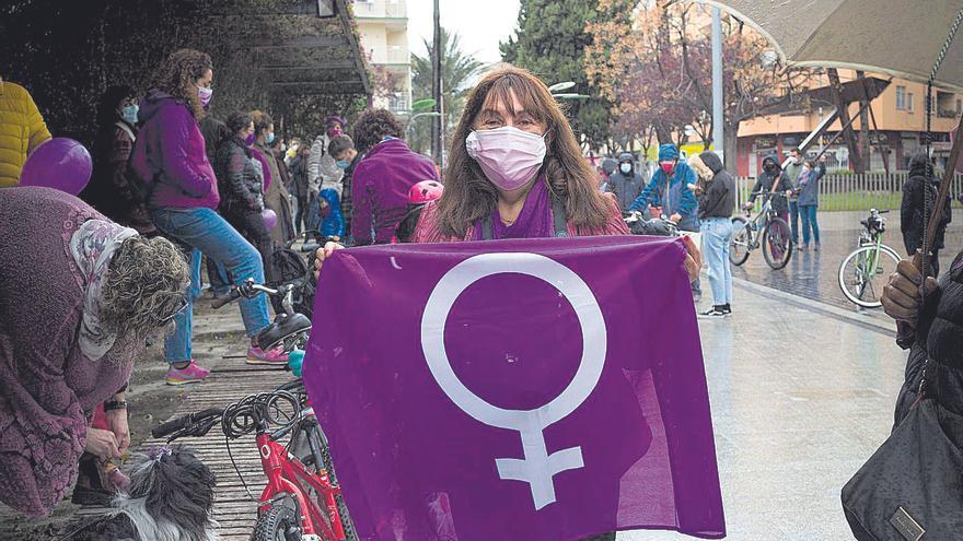 La lucha por la igualdad supera la pandemia y el mal tiempo en la Safor