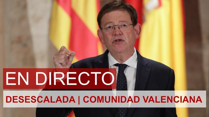 DIRECTO | Ximo Puig anuncia el plan de desescalada en la Comunidad Valenciana
