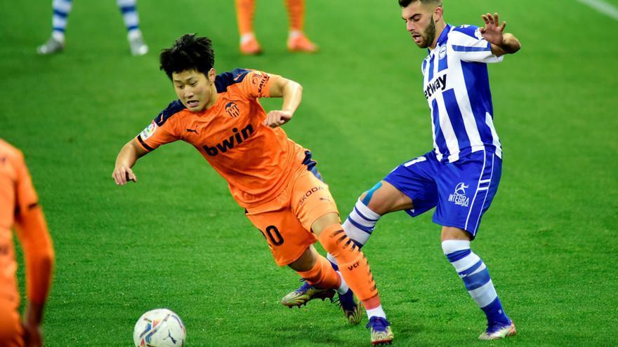 El Mallorca presenta una oferta por Kang In Lee