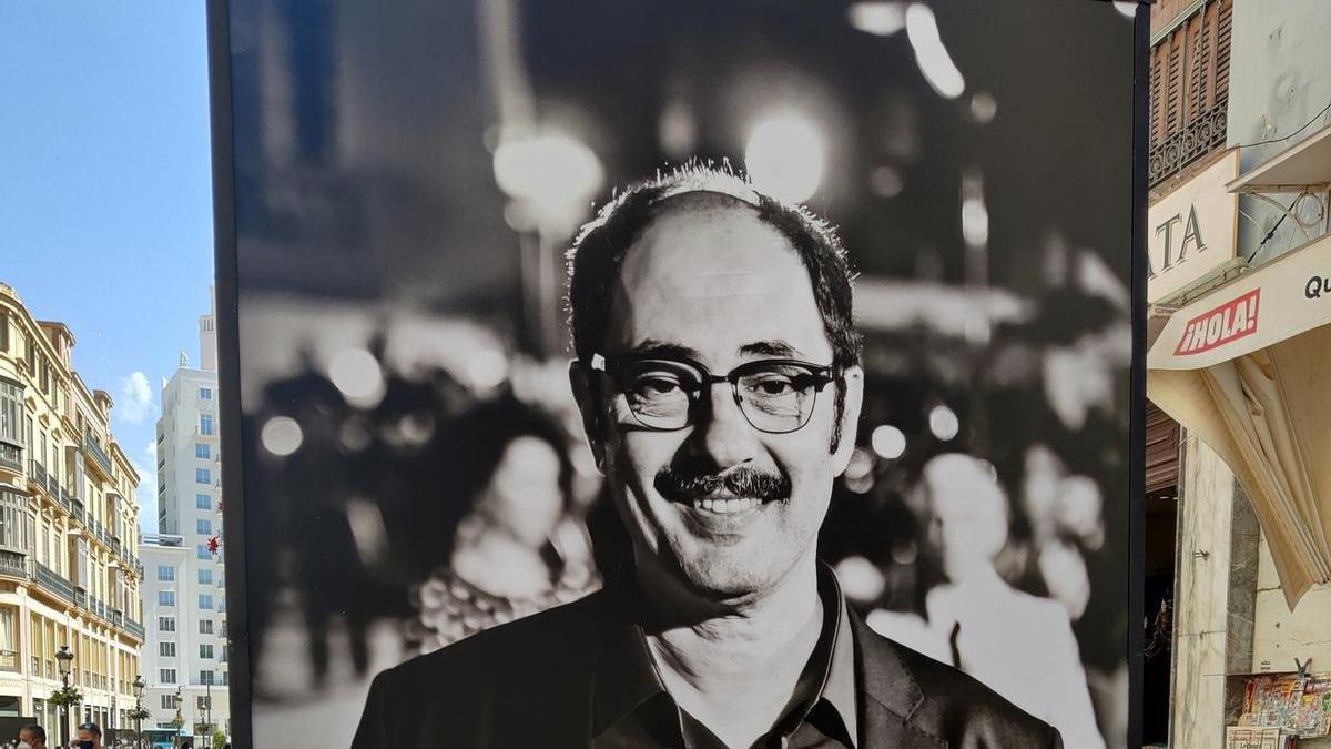 Jordi Sánchez, que aparecía en la exposición como 'Antonio Manrique Matamoros', el nombre auténtico del Antonio Rico, el personaje de 'La que se avecina'